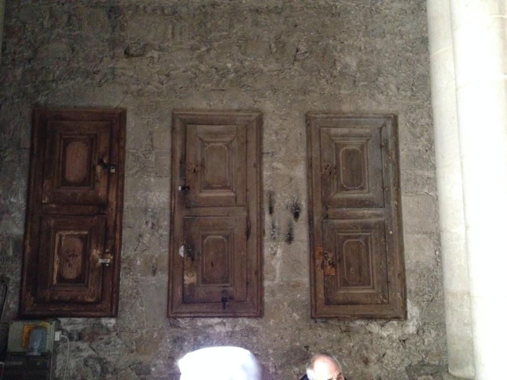 Another door in the Church of the Holy Sepulcher