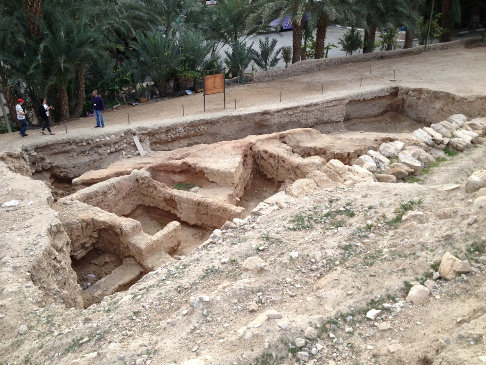 Bronze Age City in Jericho.