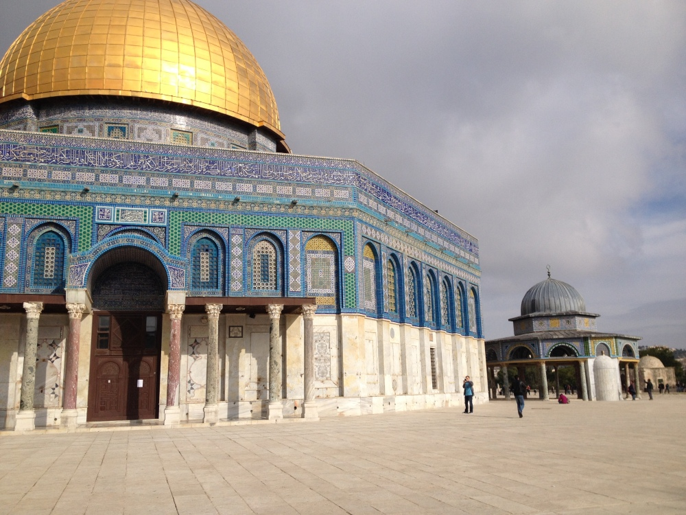 Dome of the Rock and Dome of the Chain.